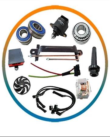 تصویر دسته بندی سیستم برق و انژکتور